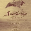 Anathema // Resonance tour 2015