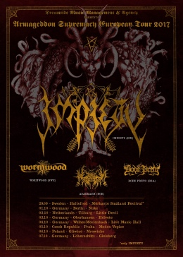 Armageddon Supremacy European Tour 2017