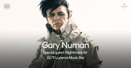 Gary Numan + support Nightmare Air
