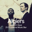Návrat Algiers do Lucerna Music Baru