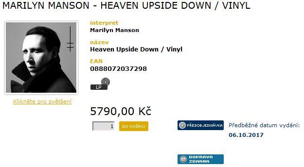 Heaven Upside Down vinyl
