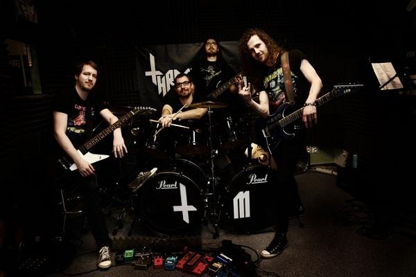 Thrashing Machine band