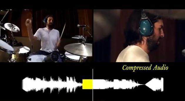 Srovnání uncompressed vs. compressed music