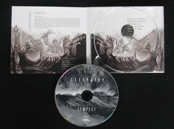 Telepathy - Tempest digipak CD